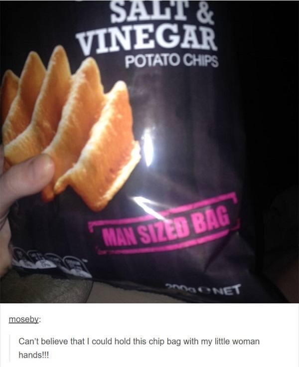 Man Sized Bag