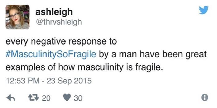 Masculinity So Fragile Responses