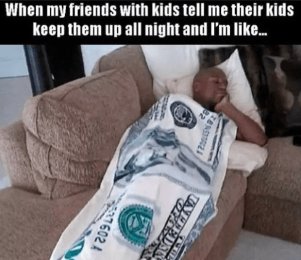 Best Memes About Being Childless