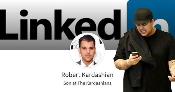 Rob Kardashian Linkedin