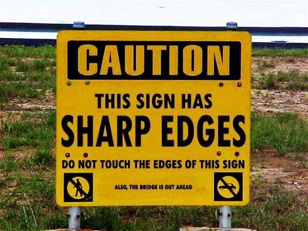 Sharp Edges