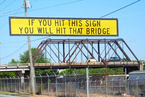 Sign Bridge