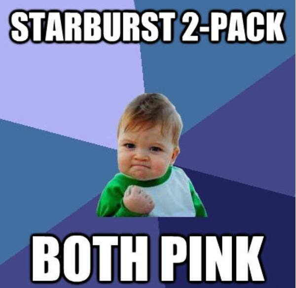 Success Kid Memes Starburst