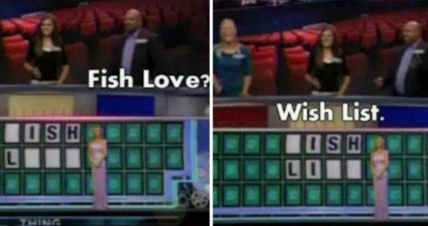 Wish List Game Show Answers