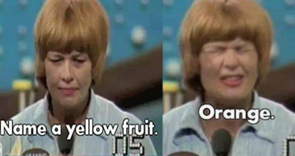 Yellow Orange Game Show