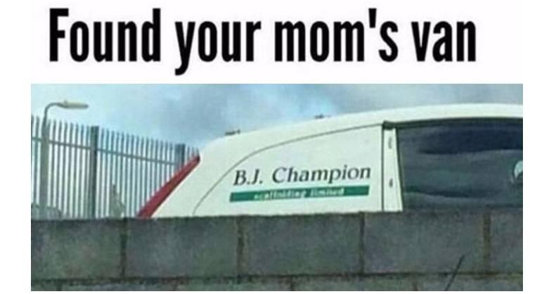 Your Moms Van