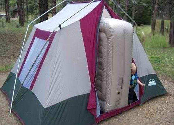 Funny Camping Fails Air Mattress