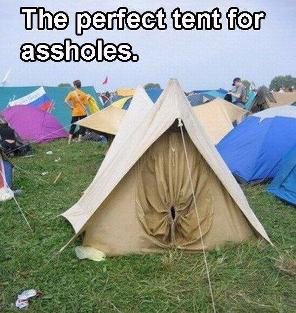 Asshole Tent