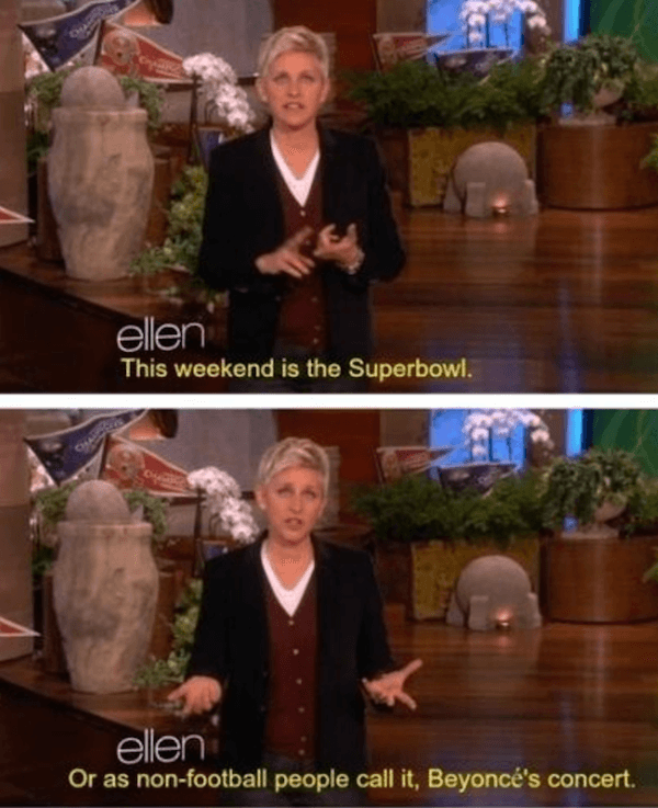 Funny Ellen DeGeneres Quotes On Beyonce