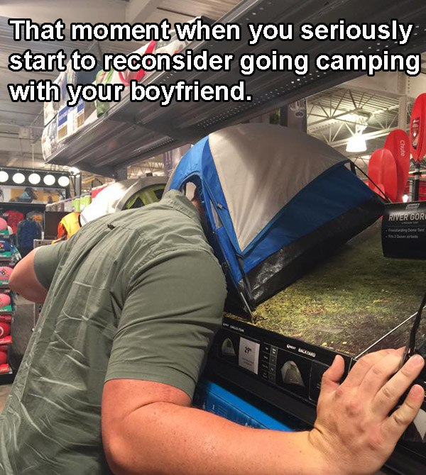 Camping Idiot