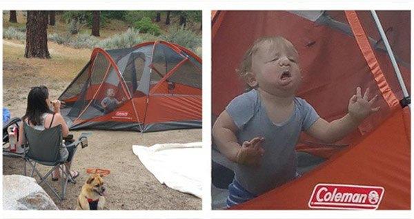 Camping Toddler Og