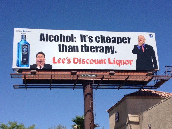 Crazy Billboards Cheaper Than Therapy