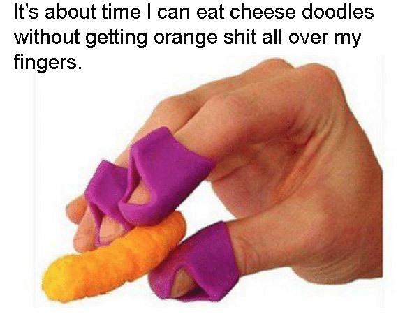 Cheetos Fingers
