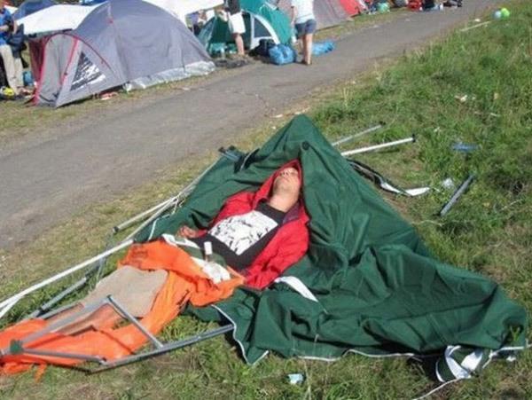 Camping Fails Close Enough