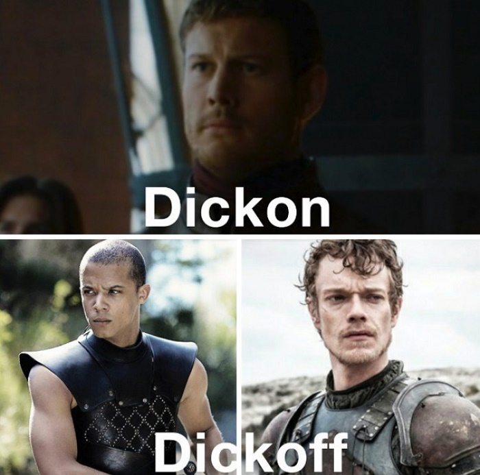 GOT Reactions Dickon Dickoff