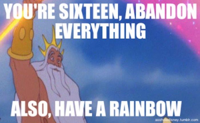 Disney Captions Triton