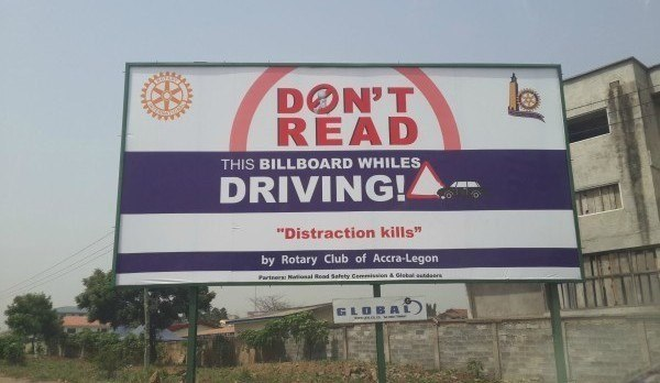 Dont Read Driving