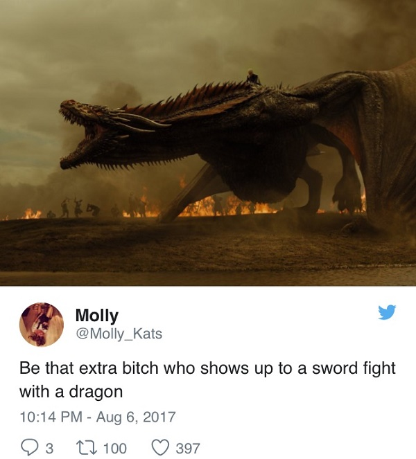Dragon To A Fight