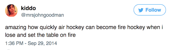 Fire Hockey