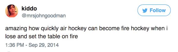 Fire Hockey