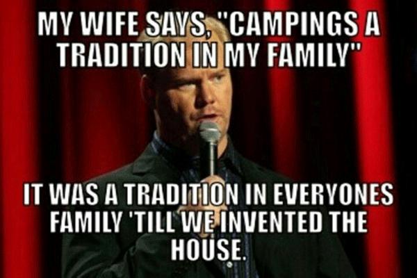 Hilarious Camping Fails Gaffigan