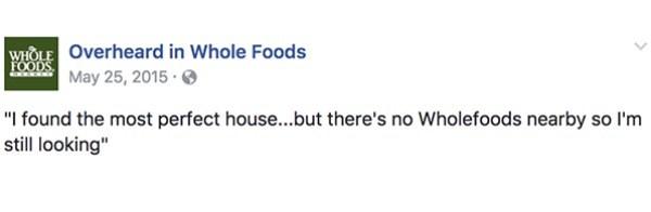House Whole Foods
