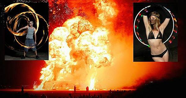 Hula Fire Burning Man