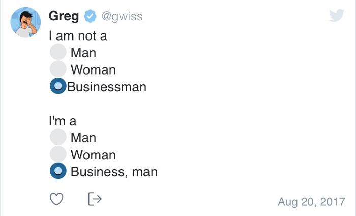 I Am Not A Businessman