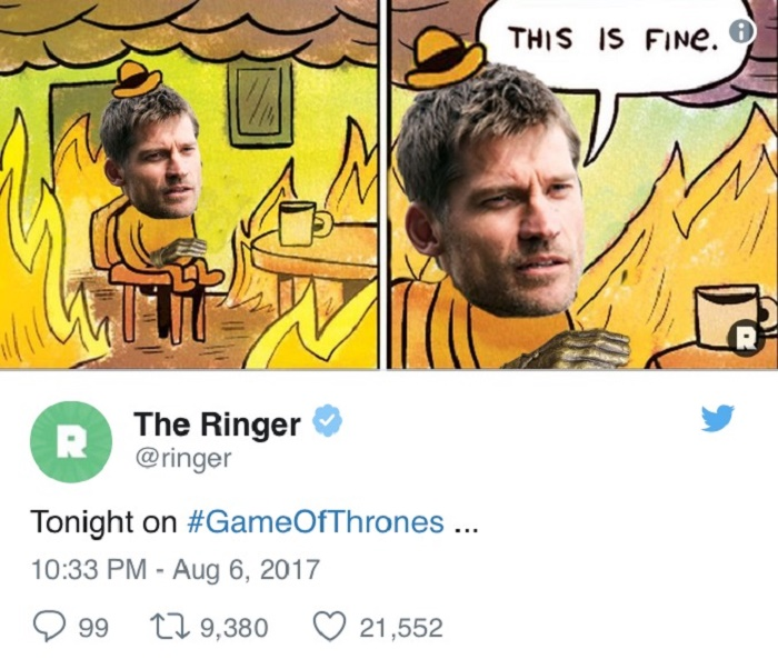 Jaime On Fire