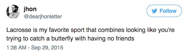 Real Sports Tweets Lacrosse