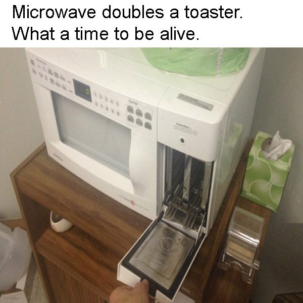Truly Amazing Micro Toaster