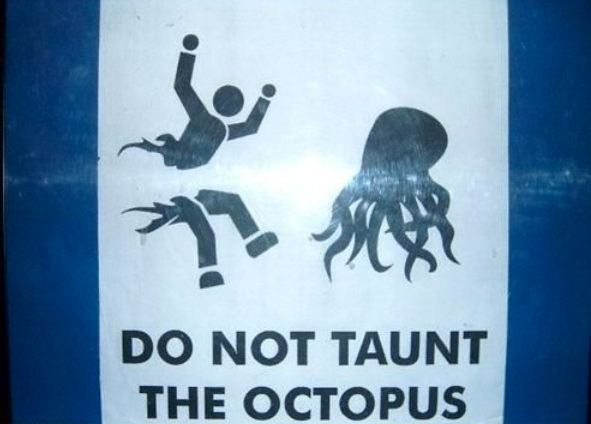 Octopus Taunts