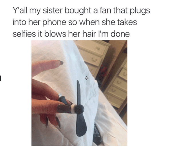 Seflie Fan
