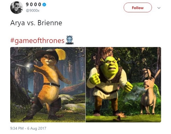 Shrek And Puss