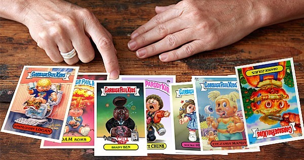 Tarot Card Garbage Pail Kids