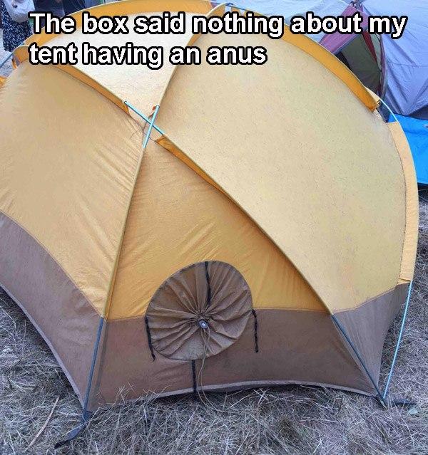 Tent Anus