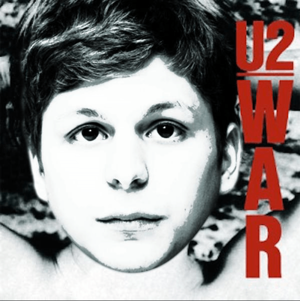 U2 Michael Cera Album Cover