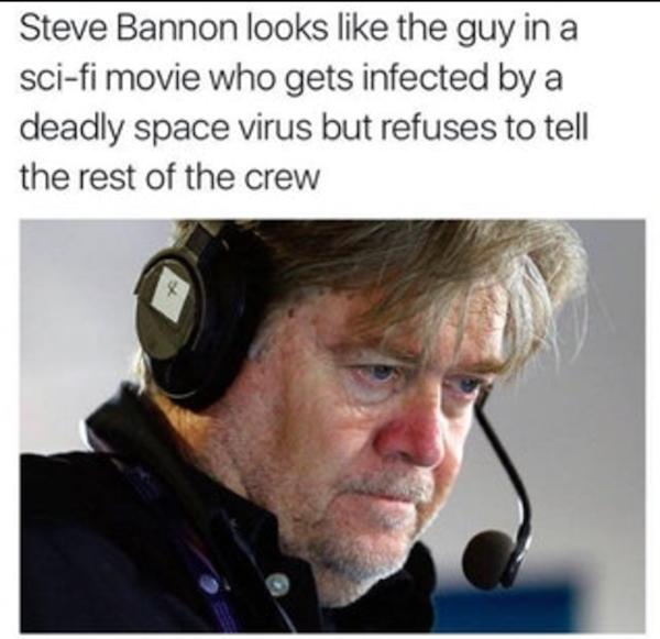 Steve Bannon Virus