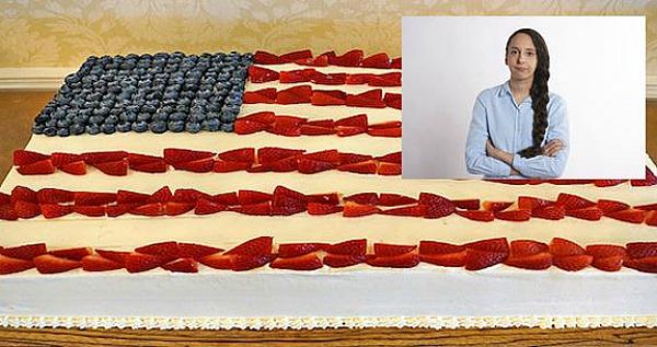 White Woman Cake