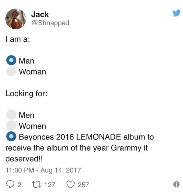 Yonce Grammy