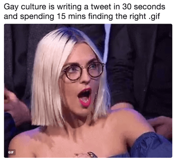 Gay Culture Is Memes Gif