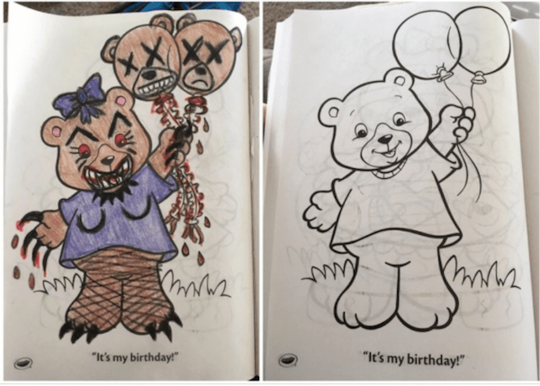 36 Dirty Coloring Book Pictures For Child-Hating Sociopaths