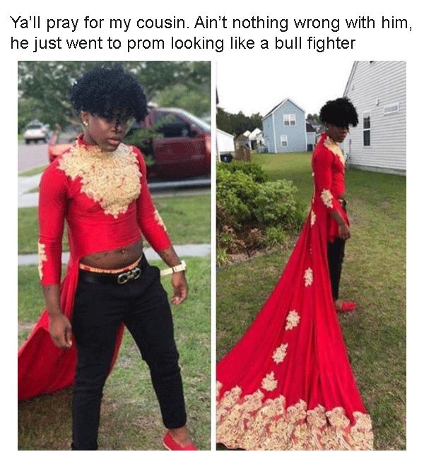 Bullfighter Prom