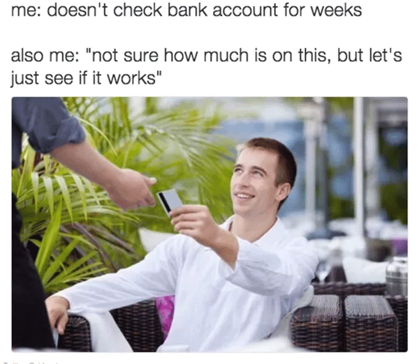 card chance 38 broke af memes that are almost as funny as your bank account