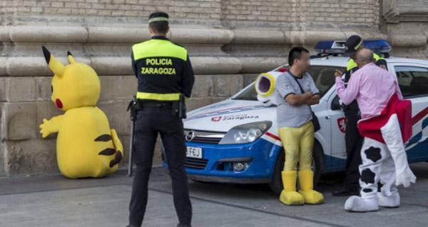Cop Pokemon