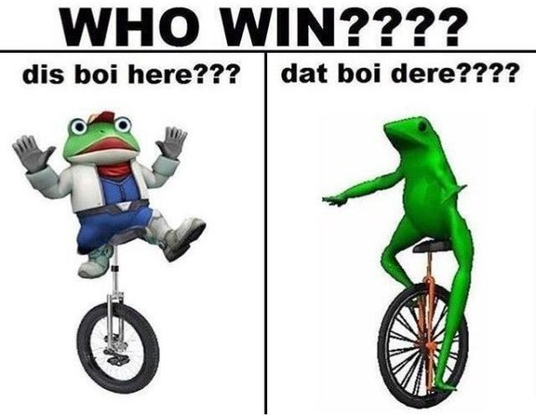 Dat Boi And Dis Boi