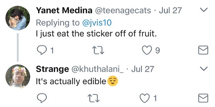 Eat The Sticker
