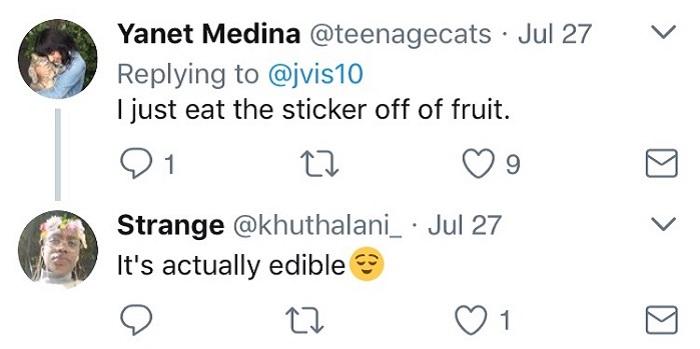 Eat The Sticker
