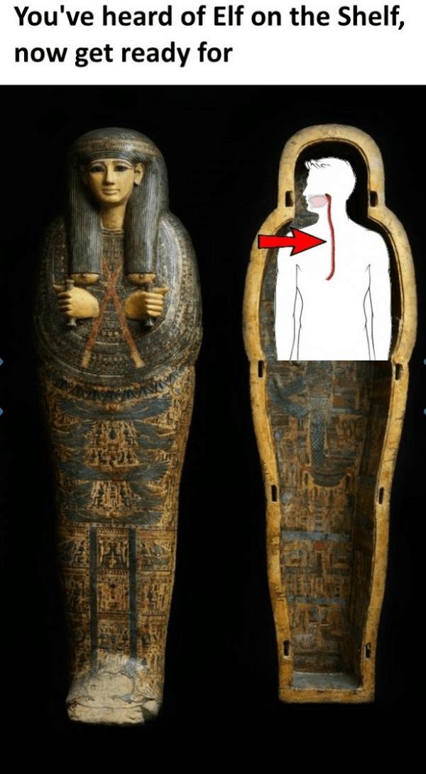 Esophagus In Sarcophagus