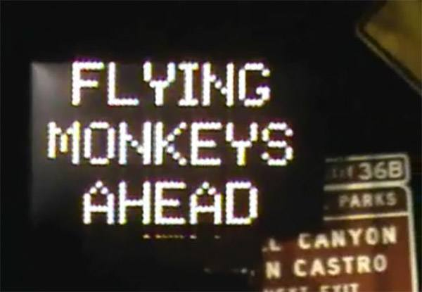 Flying Monkees
